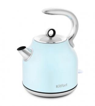 Чайник Kitfort KT-675-2, голубой