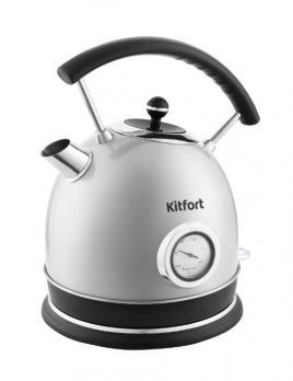 Чайник Kitfort KT-664-2, серый жемчуг