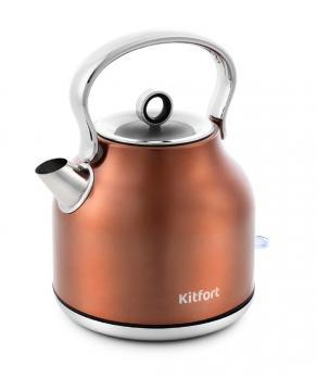 Чайник Kitfort КТ-671-5, бронзовый