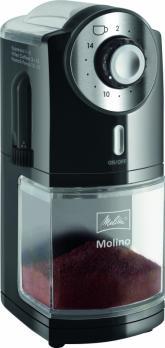Кофемолка Melitta Molino черная