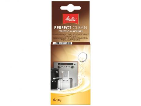 Средство Melitta Для чистки от кофейных масел Perfect Clean 4 шт x 1,8 г