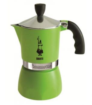 Кофеварка Bialetti Fiammetta (3 порции) 7133 Зелёный